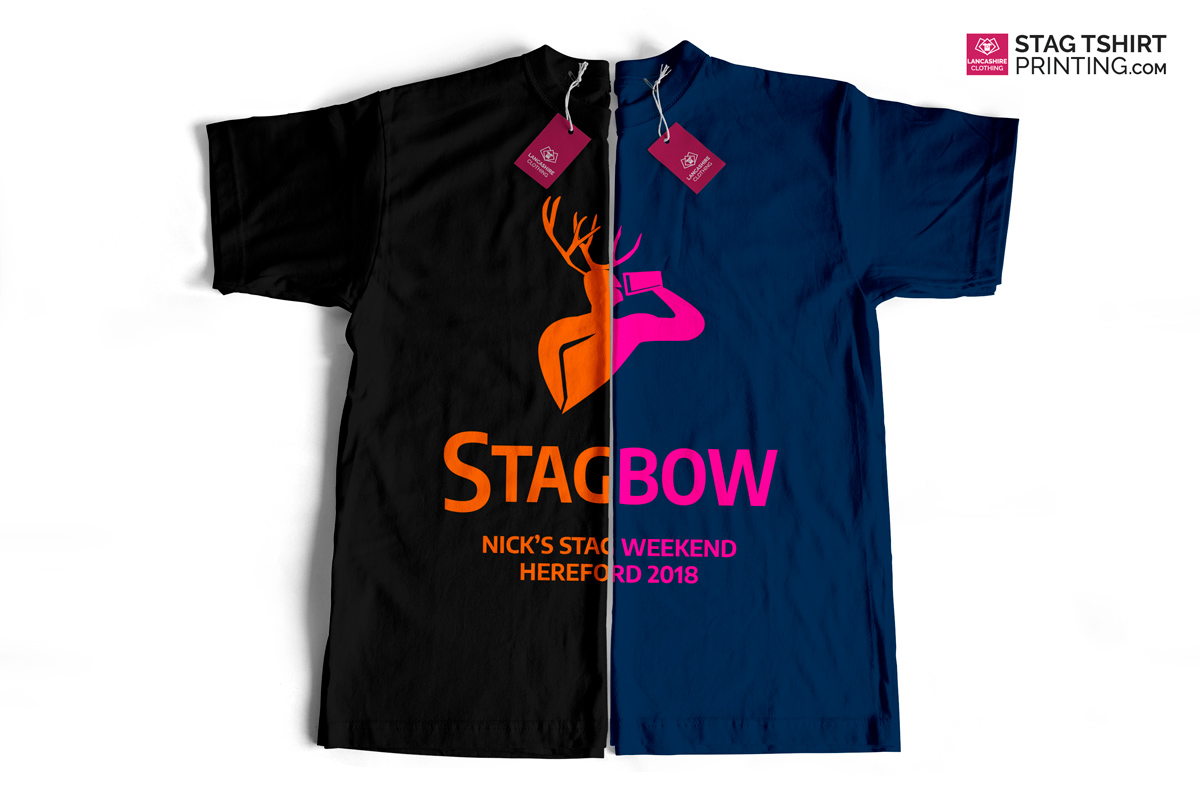 Stylish Contrast Bright Stag T-Shirt Designs